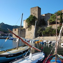Collioure, le Château royal.