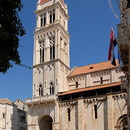 Trogir, la cathédrale Saint-Laurent.