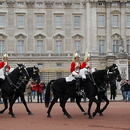 Londres, garde royale à cheval.