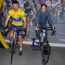 Lance Armstrong, musée Madame Tussauds, Londres.