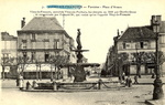 Fontaine, place d'armes, Vitry-le-François