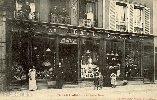Le grand bazar, Vitry-le-François