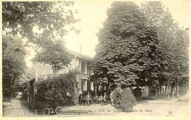 Café des Indes et chemin de Blacy, Vitry-le-François