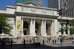New-York Library Public, Manhattan.