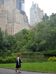 Central Park, Manhattan, New-York.