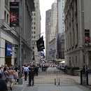 Wall Street et New-York Stock Exchange, Manhattan.