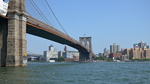 Le pont de Brooklyn, New-York.