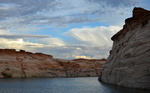 Un canyon du lac Powell, Arizona, Utah.