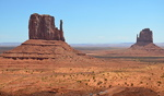 West and East Butte, Monument Valley, Arizona.