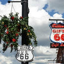 Williams, Arizona, la route 66.