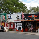 Seligman, Arizona, la route 66.