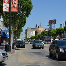 Hollywood boulevard, Los Angeles.