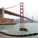 Le Golden Gate Bridge, San Francisco, Californie.