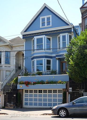 La maison bleue qui a inspir maxime leforestier pour sa for Adresse de la maison bleue san francisco
