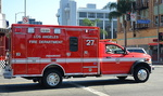 Une ambulance à Los Angeles.