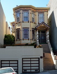 Maison en location, quartier Hayes Valley, San Francisco, Californie.