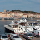 Panorama du port de Saint-Tropez.