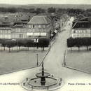 Place d'armes, vue panoramique, Vitry-le-François