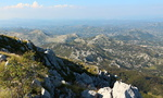 Le parc national du Lovcen.