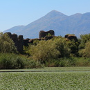 Ancienne forteresse Lesendro, lac Skadar.