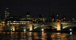 Londres, le Southwark Bridge.