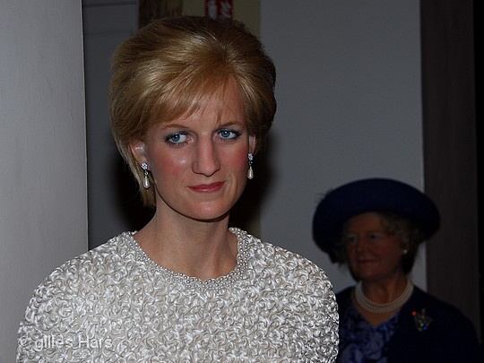Lady Diana, musée Madame Tussauds, Londres.
