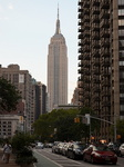 L'Empire State Bulding, Manhattan, New-York.