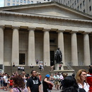 Federal Hall et Statue de George Washington, Manhattan.