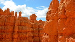 Les hoodoos, parc national de Bryce Canyon, Utah.