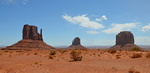 West, East and Merrick Butte, Monument Valley.