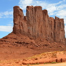 Camel Butte, Monument Valley, Arizona.
