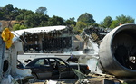 Le Studio Tour: crash d'un avion de ligne, Universal Studios.