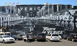 Touch of Venise, Fresque murale de Jonas Never, Venice.