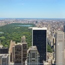 New-York, Manhattan, Panorama vers Central Park depuis le Top of the Rock.